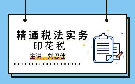 精通税法实务-印花税