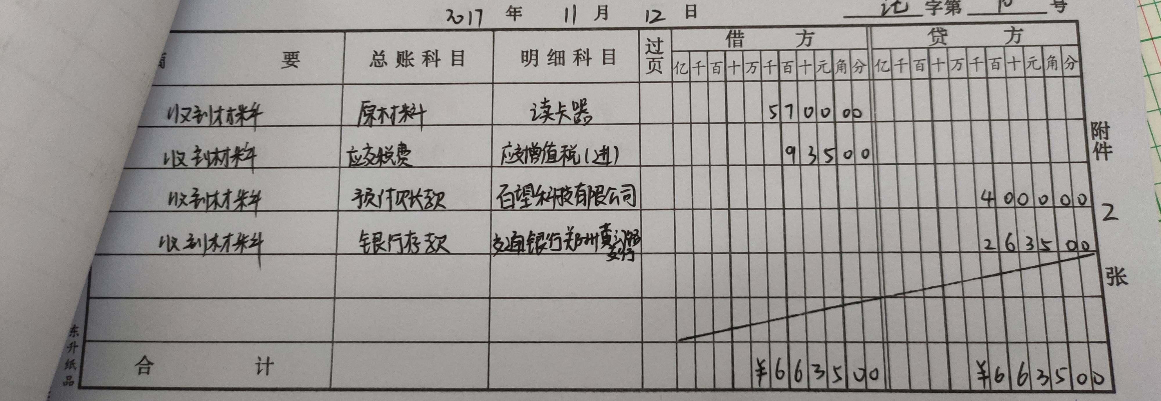 老师,那对于这张凭证,写银行存款日记账的时候,对应科目和金额应该如何写呢