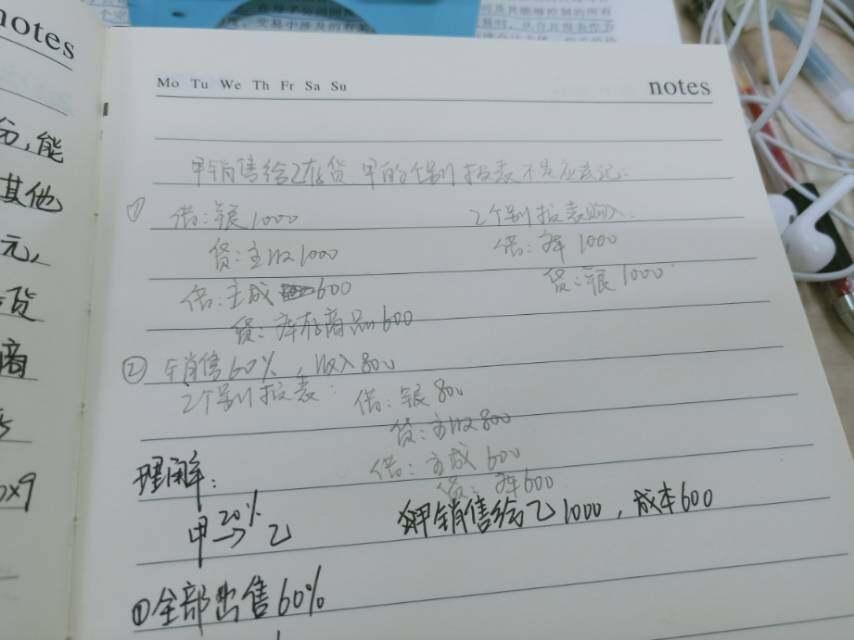 老师,你看我用铅笔写的我的理解,哪里有问题呢?