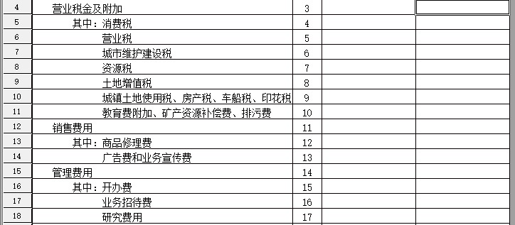 是这样的 我做完7月的帐,结转之后,发现利润表的税额部分是空白的,但是这笔账我有做分录的  请问一下老师这是为什么