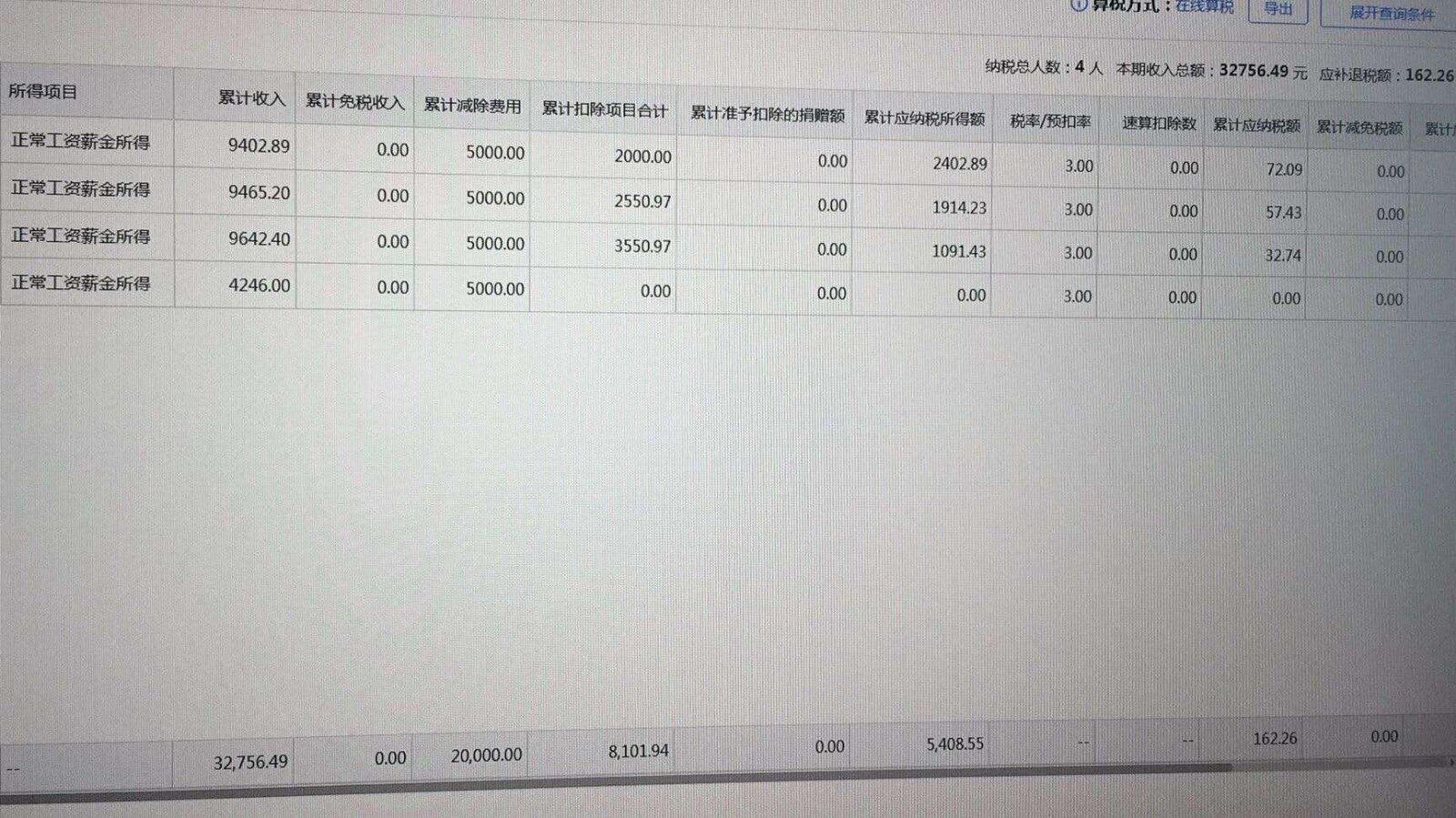 老师,这个我昨天申报税款所属期1月份的12月工资的申报数据