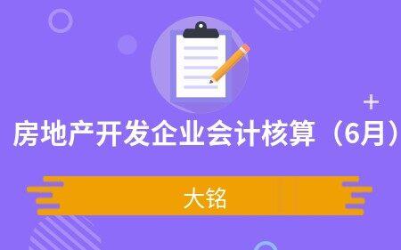 房地产开发企业会计核算(6月)