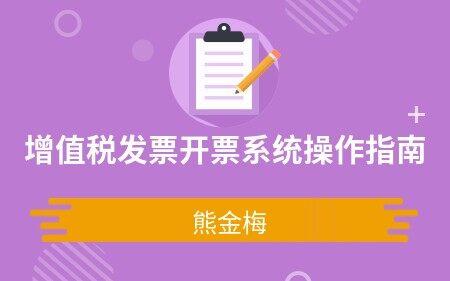 增值税发票开票系统操作指南