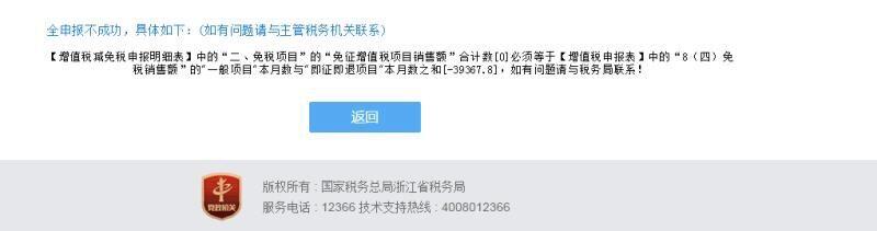 系统自动跳的,冲红的数字是-39367.8,是不是因为发票开了免税的